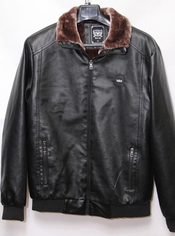 Куртки мужские H&H  BLACK оптом 07248963 А6