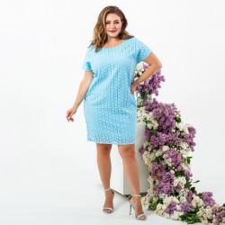 Платья женские БАТАЛ оптом 13460985  606-2