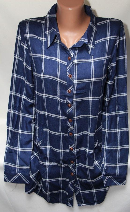 Рубашки женские оптом 2103651 6122-2