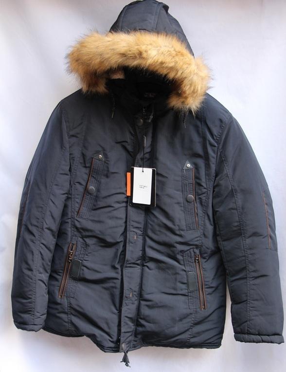 Куртка SOELUOS зимняя  мужская оптом  1609929 НТ1682-2