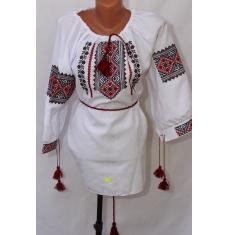 Вышитое платье женское оптом 1307782 018
