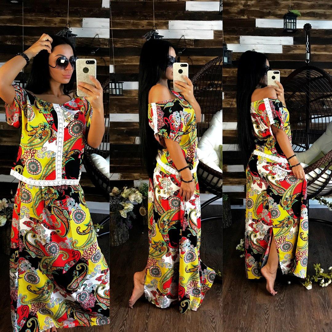 Платья женские оптом 30074409 006-5
