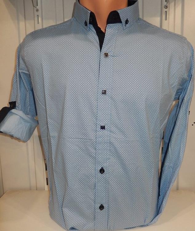 Рубашки мужские оптом 13081830 5208-2