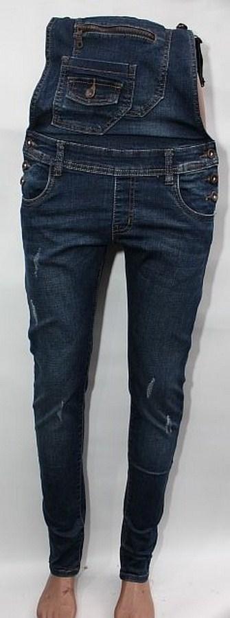 Комбинезоны джинсовые женские оптом 38671549 1171