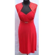 Платье с пояткой женское оптом 07095289 2Р027