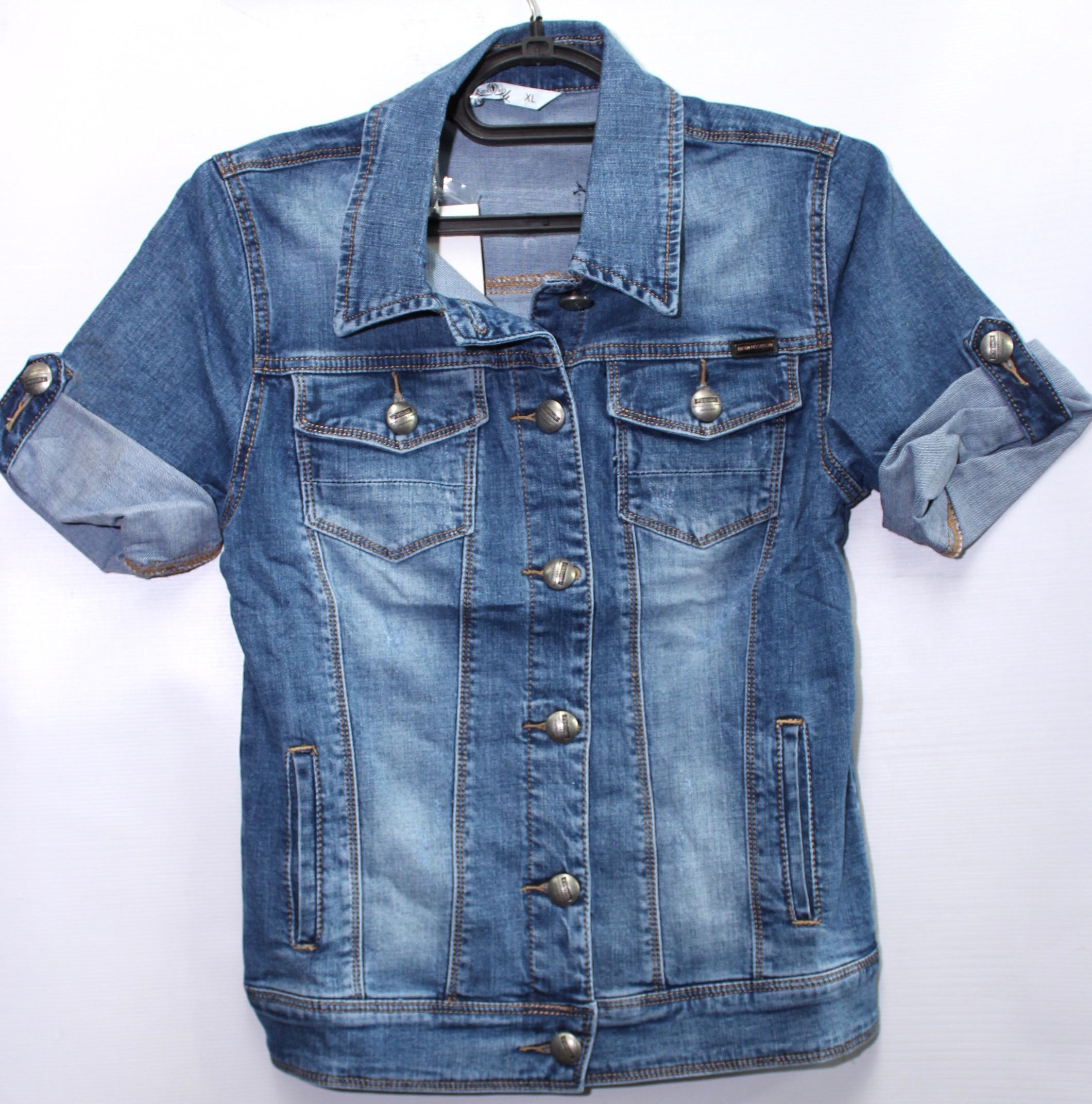 Куртки джинсовые женские ZIJINYAN  оптом 78931205 899