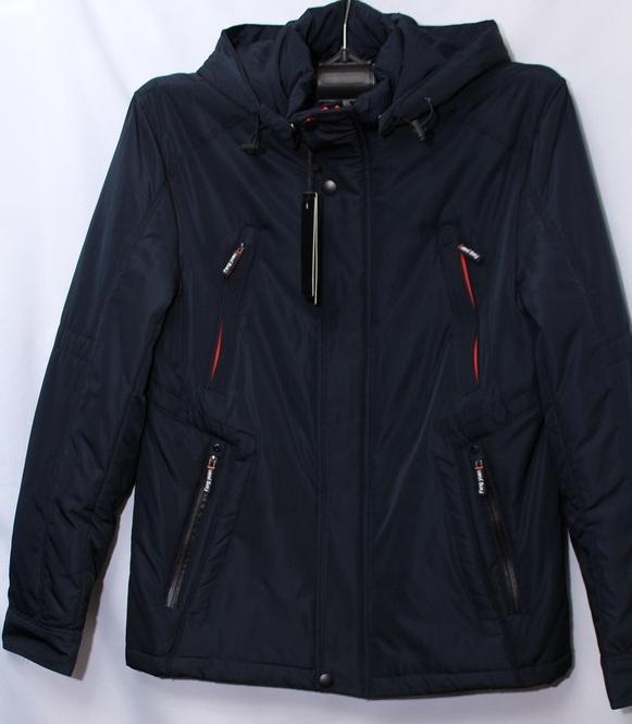 Куртки FANG YUAN (тёмно синие) мужские Китай оптом 04319752 R-03-6
