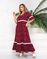 Платья женские БАТАЛ оптом 90823675  239-72