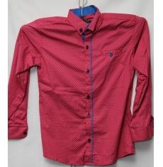 Рубашка подростковая оптом 08021095 6218