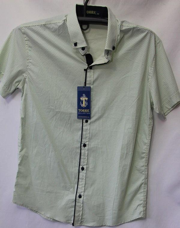 Рубашки мужские Турция оптом 2004523 3636-46