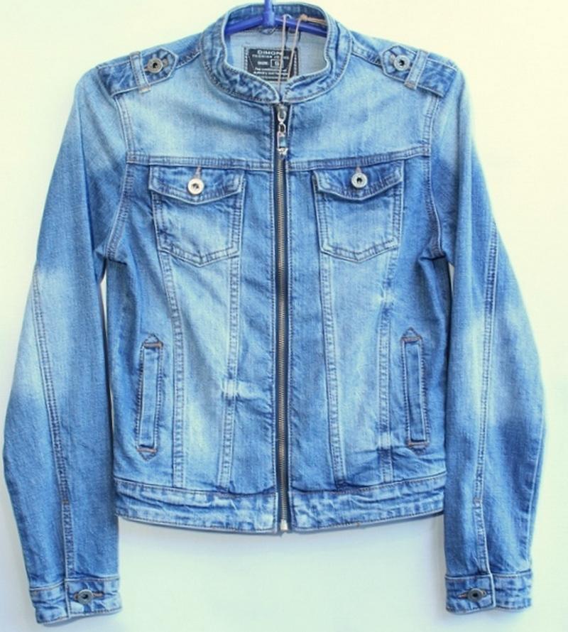 Куртки джинсовые женские DIMONI оптом 80735624 1089