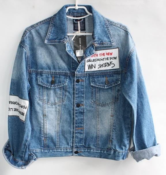 Куртки джинсовые женские RELUCKY оптом 05348621 201