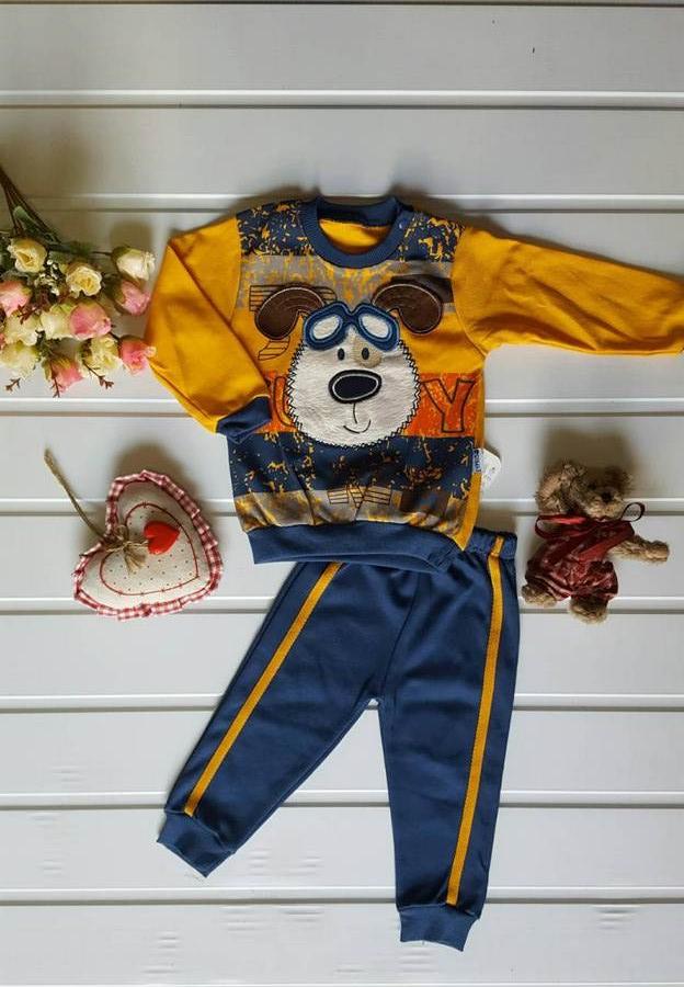 Ночные пижамы детские оптом 97124035 2-22