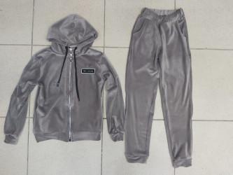 Спортивные костюмы юниор на флисе оптом 83014572 01-2