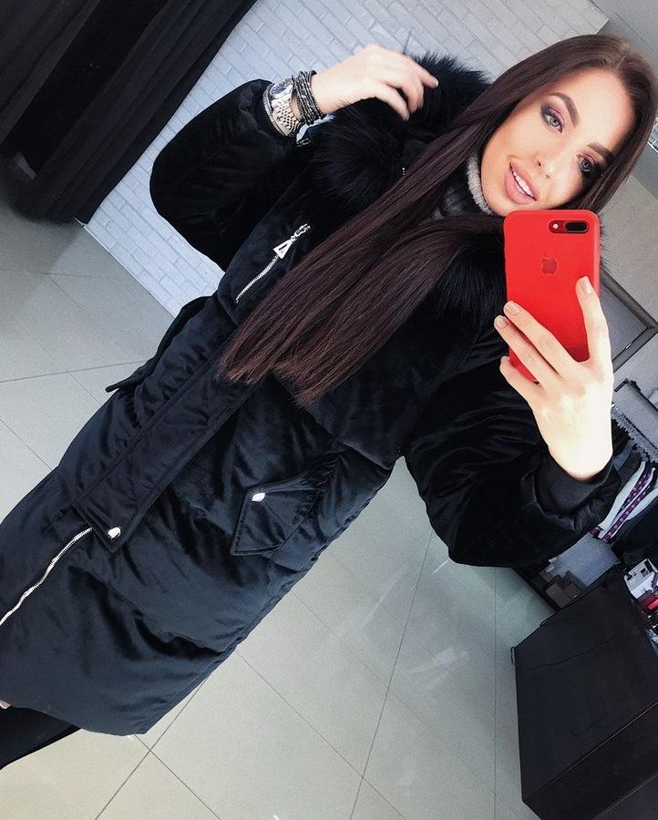 Куртки женские зимние Фабричный Китай оптом 76084925 0493-1