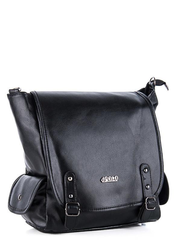 Рюкзаки женские DAVID POLO black оптом  18101605 80-1