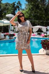 Платья женские БАТАЛ оптом 42075618 28-35