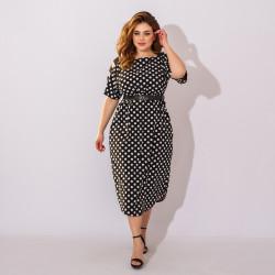 Платья женские БАТАЛ оптом 91562704  65-13