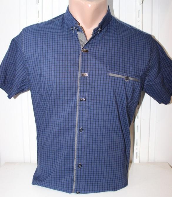 Рубашки мужские оптом 22061830 1725-2