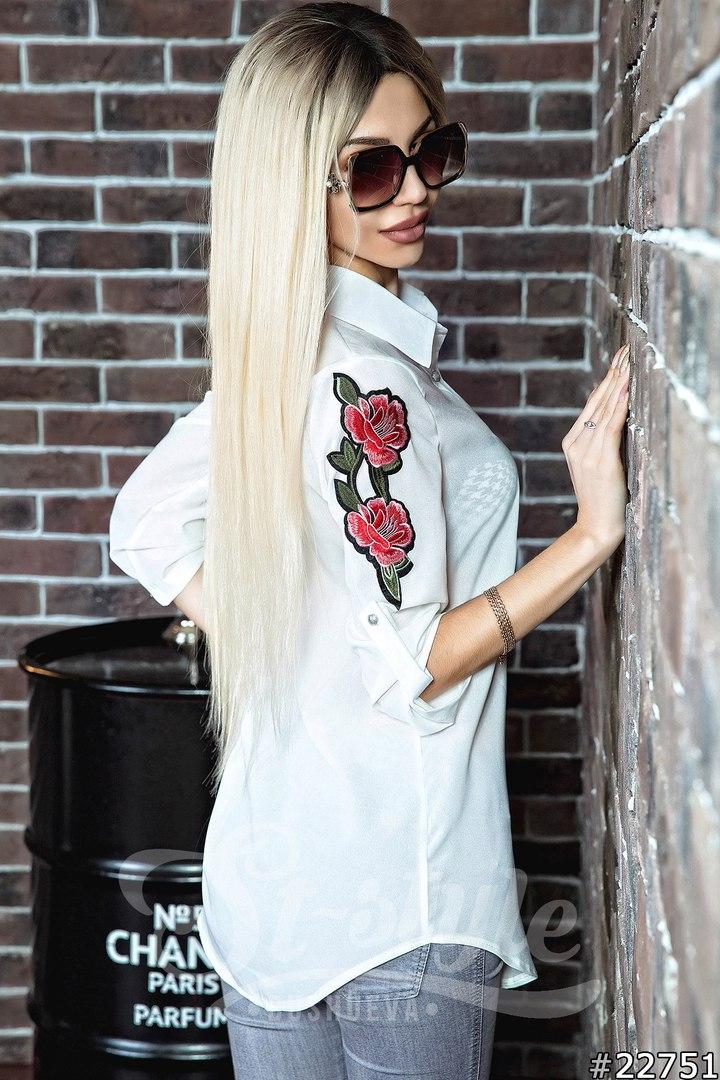 Рубашки женские оптом  18104780 32-12