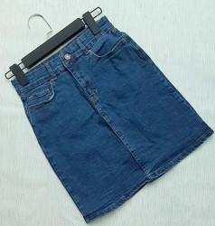 Юбки джинсовые женские оптом 52736098 02-1