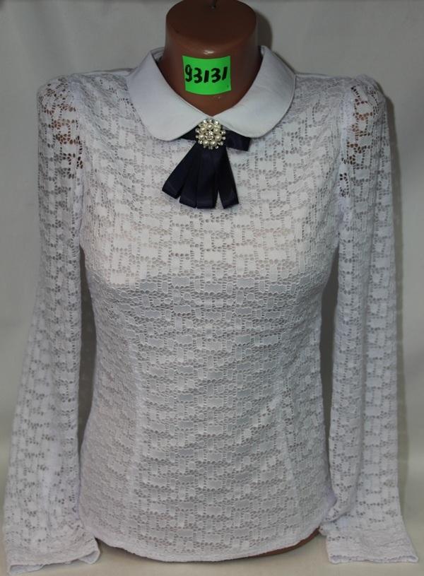 Блузы школьные оптом 2506636 92131-1