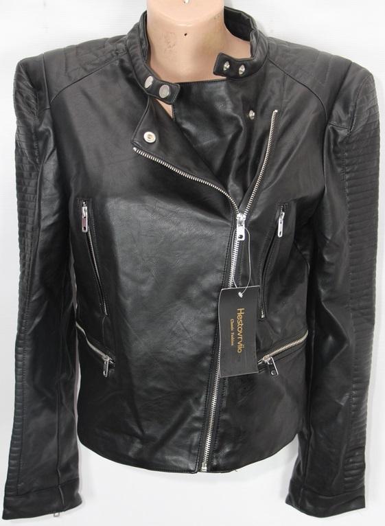 Куртки-косухи женские кожзам оптом 29065374 1701