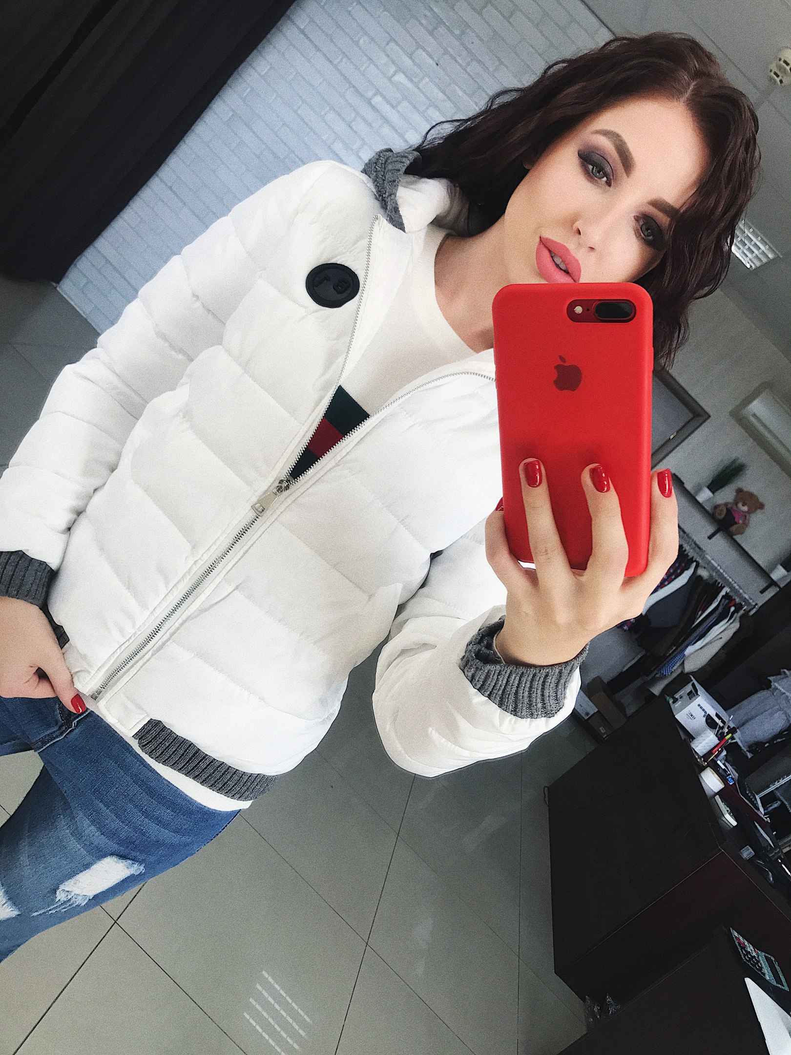 Куртки женские оптом 18104786 0459-8
