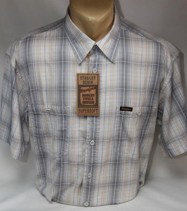 Рубашки мужские оптом  01044737 0268-2