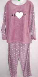Ночные пижамы женские AKASYA ПОЛУБАТАЛ оптом 97084126 05-51