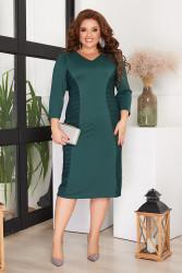 Платья  женские БАТАЛ оптом 97450631 02-12