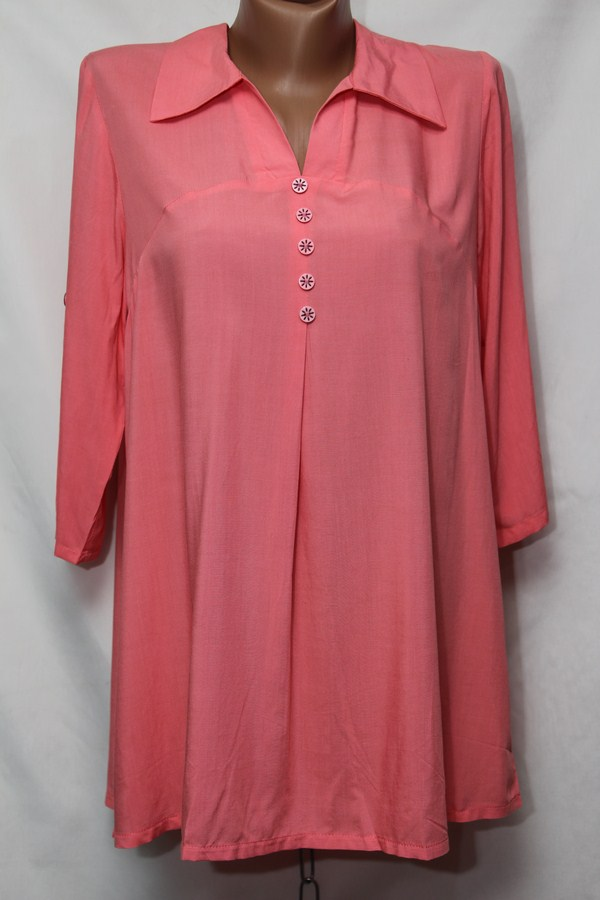 Блуза женская БАТАЛ оптом 18021410 244