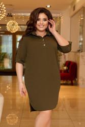 Платья женские БАТАЛ оптом 82596730  805-6