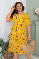 Платья женские БАТАЛ оптом 76824130 24-27