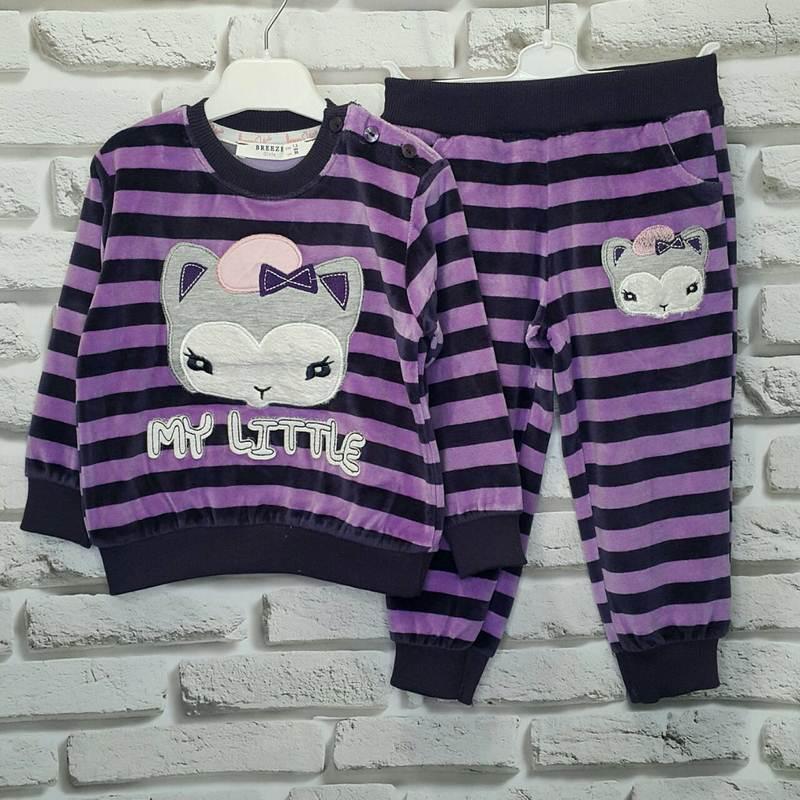 Спортивные костюмы детские для девочек Breeze Турция оптом 43568701 10421-30