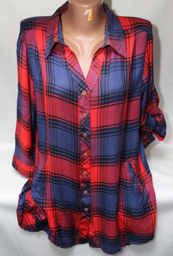 Рубашки женские оптом 2103651 6124-2