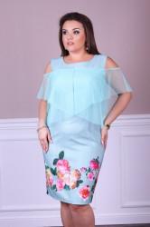 Платья женские БАТАЛ оптом 35068749 15-30