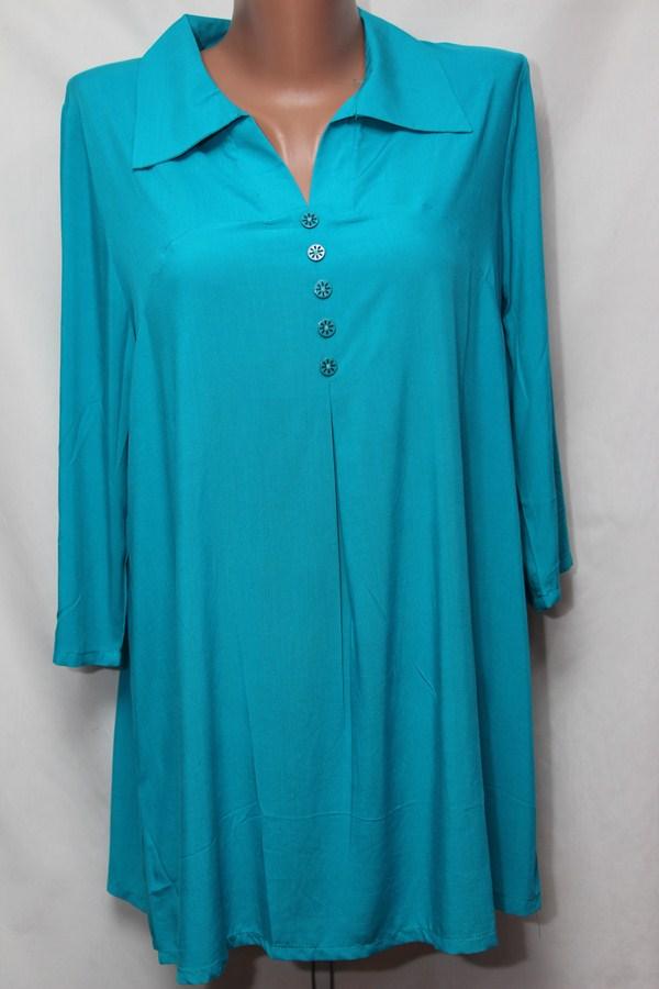 Блуза женская БАТАЛ оптом 18021410 245