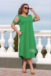 Платья женские БАТАЛ оптом 95612380 06-8