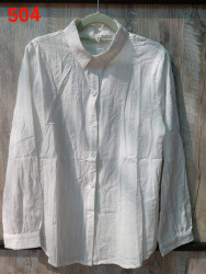 Рубашки женские оптом 47629508 504-11
