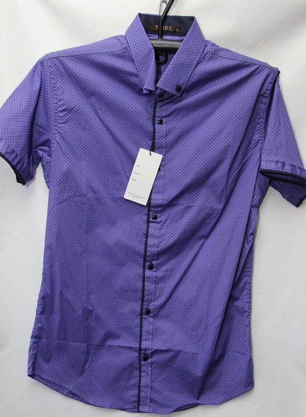 Рубашки мужские Турция оптом 2004523 3636-57