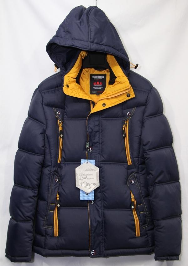 Куртки мужские G.N.C. зимние оптом 26914503 E-29-3