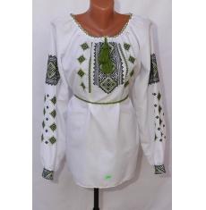 Вышитое платье женское оптом 1307782 013