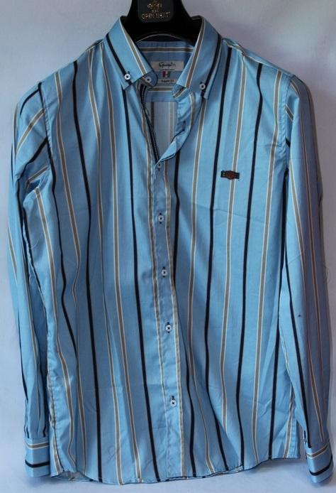 Рубашки мужские оптом 15104457 7639-2