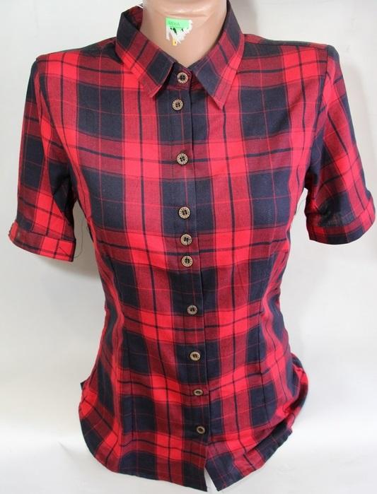 Рубашки женские QIANZHIDU Турция оптом 98156203 12002-54