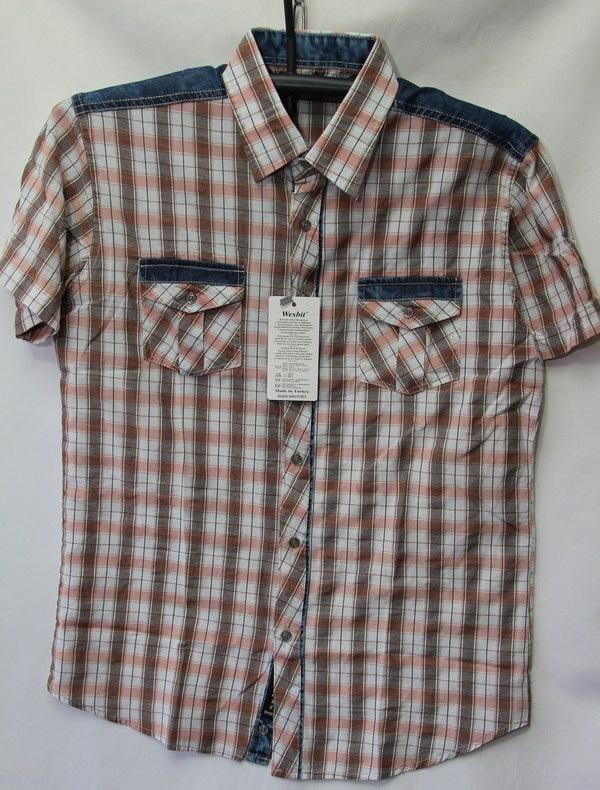 Рубашки мужские Турция оптом 2004523 3636-61