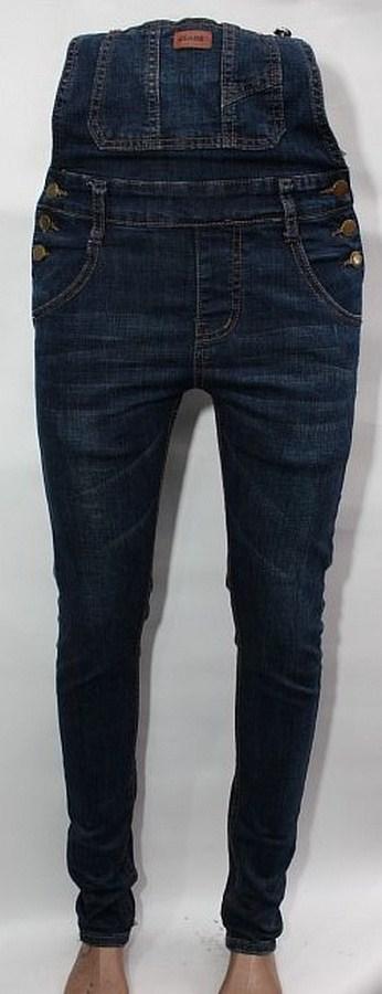 Комбинезоны джинсовые женские оптом 13450697