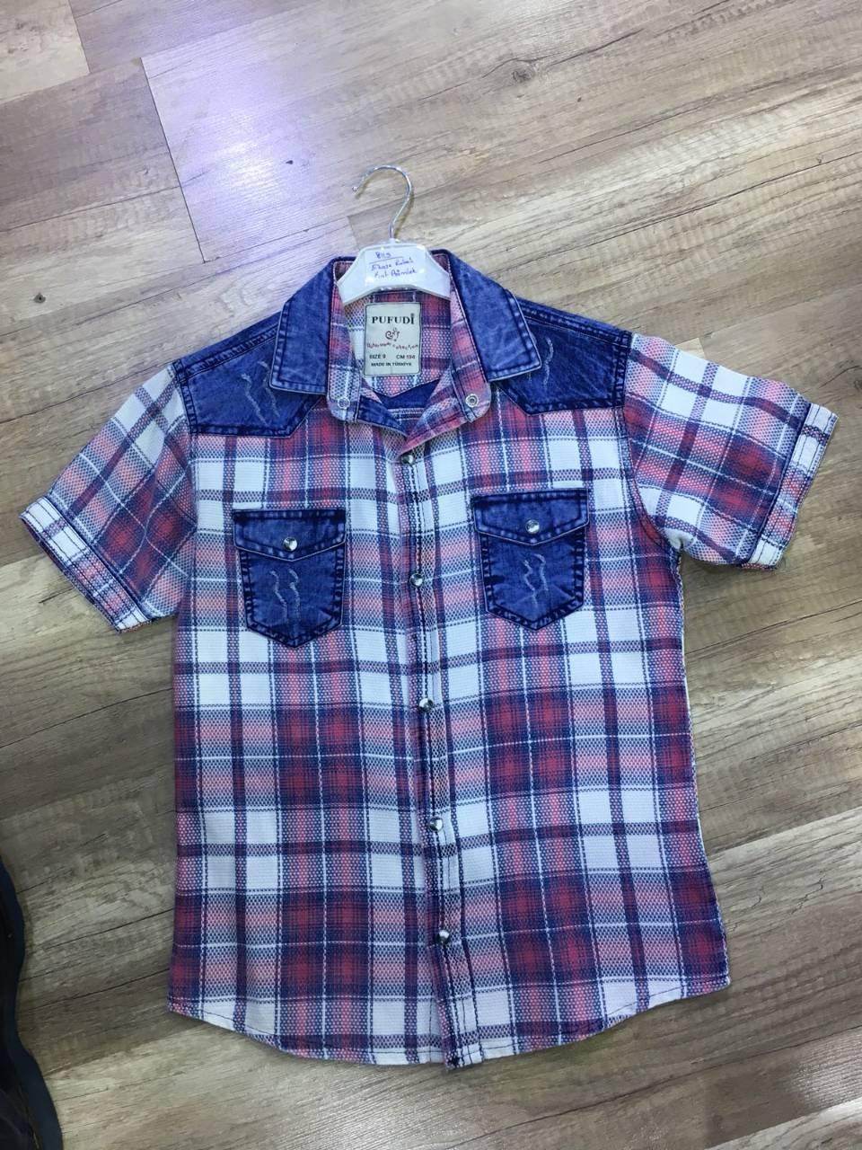 рубашки  детские оптом 96431275 2-10