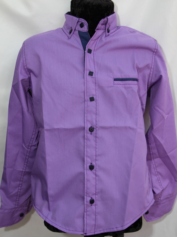 Рубашки детские оптом 12071390 4628-130