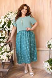 Платья женские БАТАЛ оптом 45360719  141-1